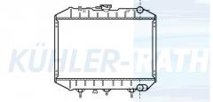 Wasserkühler passend für Isuzu (4293001 91138766)