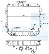 Hyundai radiator (2531021010 2531021012 22531021020 22531021022)