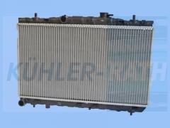 Hyundai radiator (253102D200)