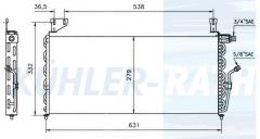 VW Kondensator (171820413C 171820413 171820413A)