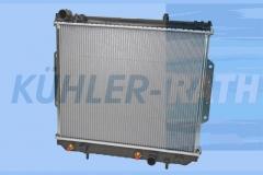 Jeep Wasserkühler (52079971AA 52079971AB)