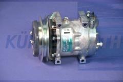 Kobelco/Komatsu/Sanden/Volvo compressor (TDKR151310S SD7H138948 SD7H137360)