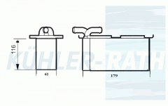 Seat/Skoda/VW Ladeluftkühler (03C145749B 03F145749C)