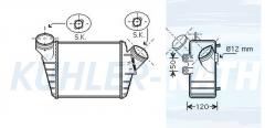 VW Ladeluftkühler (1C0145803D)