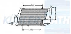 Audi Ladeluftkühler (4E0145805D 4E0145805K)