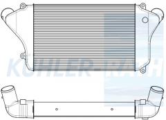 Ladeluftkühler passend für Mitsubishi (ME414253 0780911764)