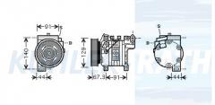 Nissan Kompressor (9260067B05 5060214510)