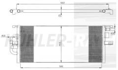 Mercedes Zusatzkühler (2205002503)