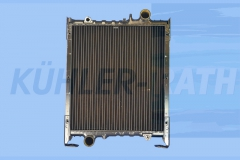 ERO/Zettelmeyer/Deutz/Komatsu radiator (2901399 4919363M91)