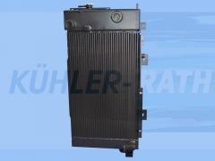 Volvo radiator (14515781 14530295 VOE14515781 VOE14530295)