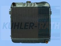 Opel Wasserkühler (1302008 1302012 1302121 09281798 09281799)
