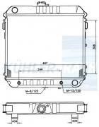 Opel Wasserkühler (1302119 1302013 1302120 90169814 09281792)
