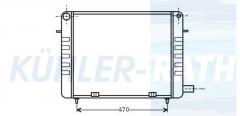 Opel Wasserkühler (1302037 90200494)