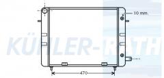 Opel Wasserkühler (1302038 90200495)