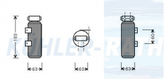 Renault drier (7700272365)