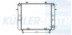 Opel Wasserkühler (1302043 90200504)