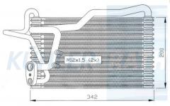 Verdampfer passend für Audi (8A1820103AA 8A1820103AB)