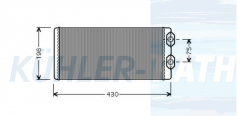 Volvo Heizkühler (3090893 20532914 9245871506)
