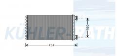 DAF heater (1454123)