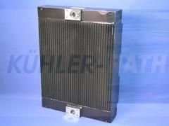Liebherr/Terex/Sennebogen oil cooler (7403992 5800310 5010654472 3755019237 3755019200)