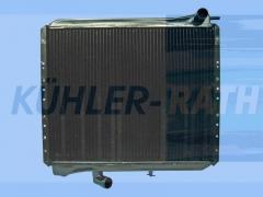 Unimog/Ladog/Tremo/Multicar radiator (A0025012401 A4255000003 A4255000603 A4255000703 A4275010301 A4