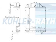 Ursus radiator (84613911 250500)