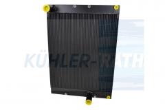 Liebherr oil cooler (1100467700 550859214 550859114)