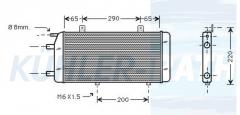 Mercedes-Benz Zusatzkühler (4615000400 A4615000400)