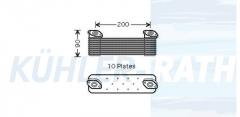 Mercedes oil cooler (0021881801)