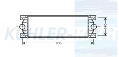 RVI intercooler (5010382814)