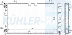 Lada radiator (11181301012)