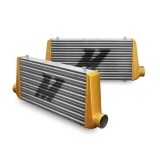 MMINT-UMGA Eat Sleep Race Special Edition M Line Intercooler w/ Gold End Tanks Mishimoto