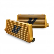 MMINT-UMG Eat Sleep Race Special Edition M Line Intercooler - All Gold Mishimoto