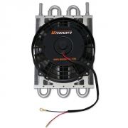 MMOC-F Heavy Duty Transmission Cooler w/ Electric Fan mishimoto