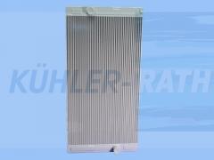 Volvo radiator (11110364 11110365 11110368 11110516 11711076 15009622 15009626 15020512 VO15009622 V