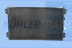 Caterpillar/Komatsu condenser (1640588 20Y9796131 164-0588 20Y-979-6131)