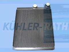 Liebherr oil cooler (592125414)