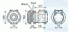 John Deere compressor (4333459)