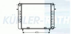 Opel Wasserkühler (1302035 90200492)