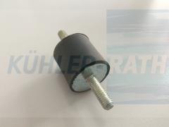 Gewinde 6x20 aussen/aussen H25 D25 rubber thread