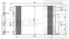 Iveco Kondensator (504080822 504238741)