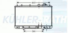 Hyundai radiator (2531028252)