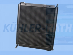 Atlas Copco/Irmer & Elze/Putzmeister combi cooler (IEX3010025 422370 422385 1100045500)