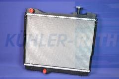 Wasserkühler passend für Nissan/Renault (21400MB40A 21400MB41A 21400MD41A 21410MB40A 5001874693 7485