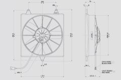 Spal fan (VA04AP70LL37S VA04-AP70/LL-37S)