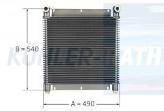 Ölkühler passend für Serie 3/O+K/Deutz 490x540x63 (2213568 91236210)