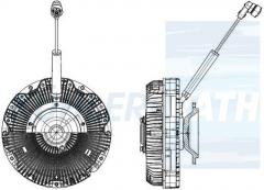 Mercedes-Benz visco clutch (4702000222 4702000522 A4702000222 A4702000522)